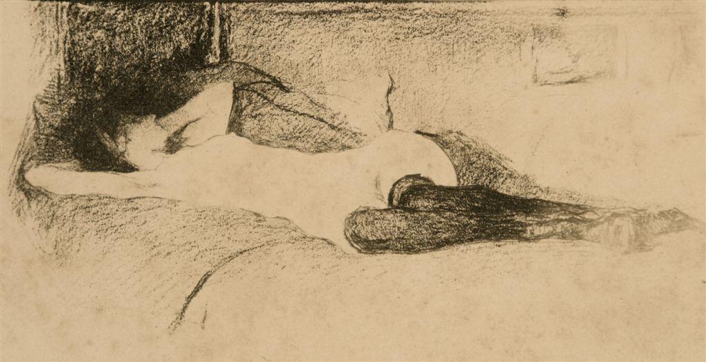 Jules De Bruycker- naakt, modele eva Dessins - Drawings