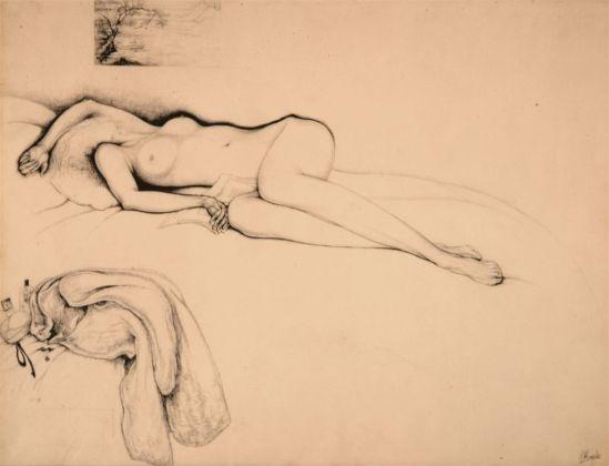 Jules De Bruycker- naakt, nd ( dessin)