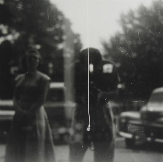 Saul Leiter- Self Portrait, 1950