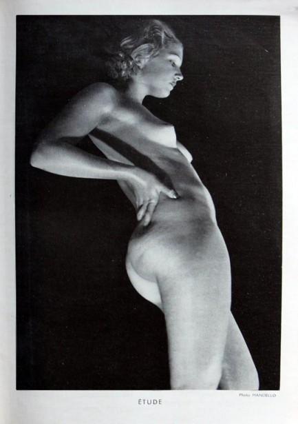 Hancello - Etude, for Pour Lire a Deux ( French art/cinema magazine), January 1935