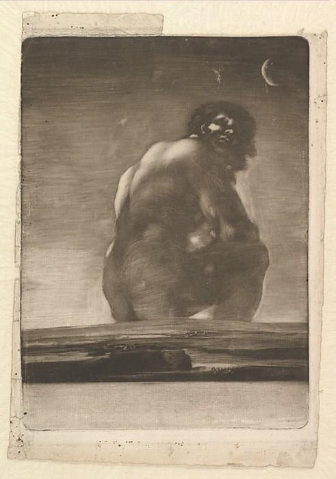 Francisco De Goya- El Coloso, 1818