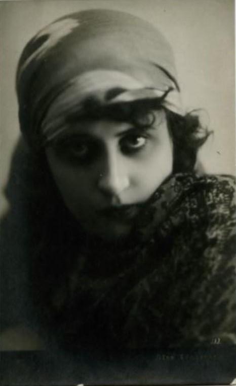 Vera Kholodnaya Photo Postcard, 1920s.2