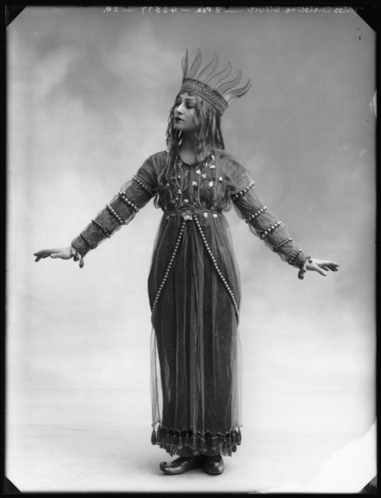 Alexander Bassano - Christine Silver as Titania  in 'A Midsummer Night's Dream, 1913 1