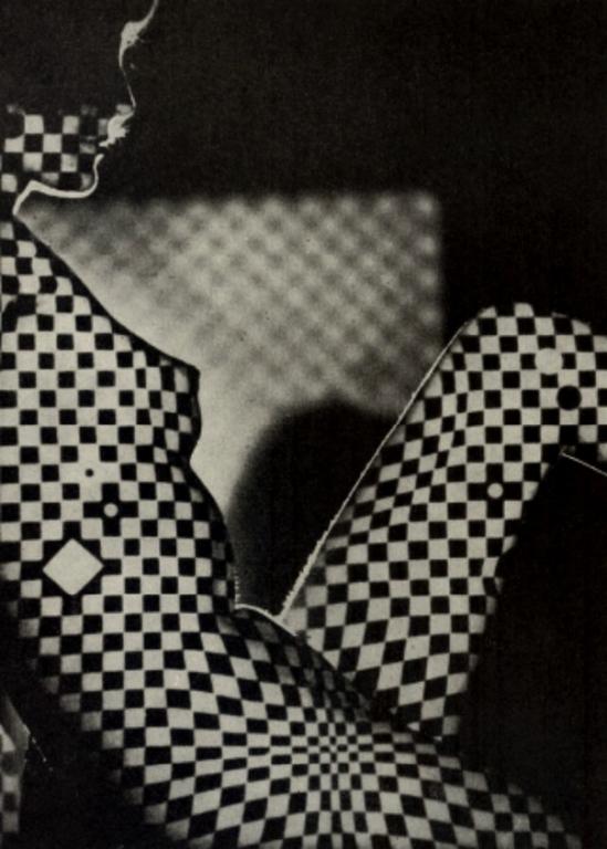 Jaroslav Vávra- Checkered Nude ,  1966