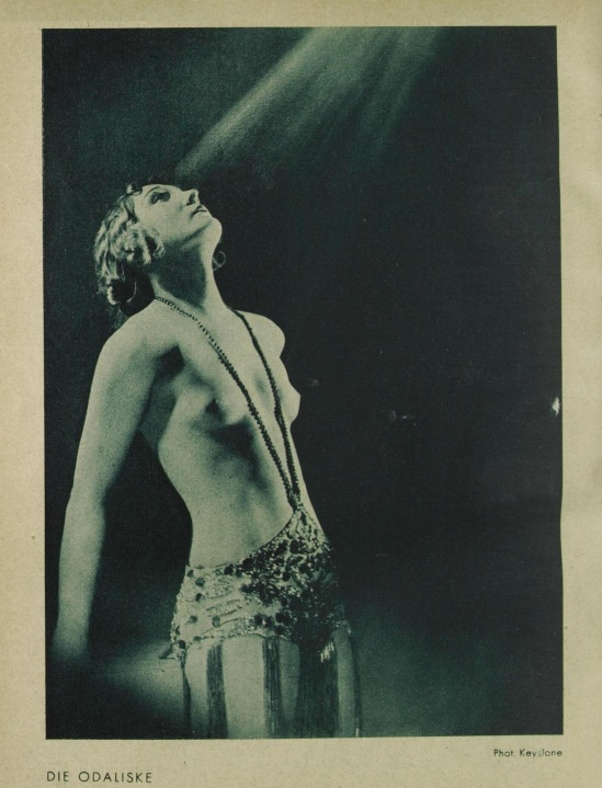 Die Odaliske, by Keystone Published in revue des Monats Juin, 1930