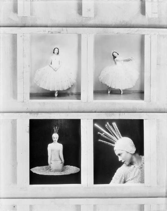 Florence Vandamm (Vandamm Studio) -Key sheet (4 shots) Tilly Losch in costume of The Band Wagon at New Amsterdam Theatre, 1931