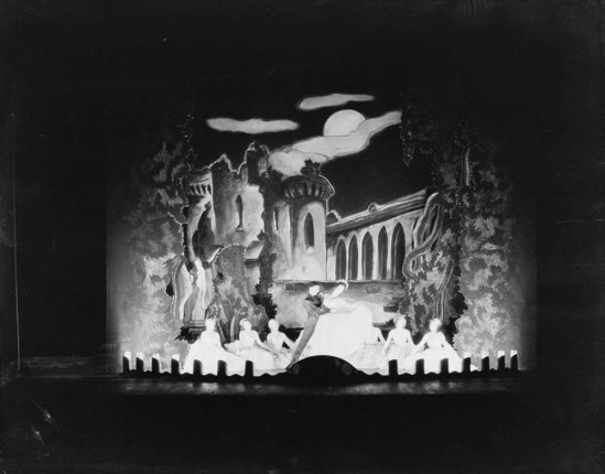 Florence Vandamm (Vandamm Studio) -Scene from The Band Wagon, at New Amsterdam Theatre, 1931