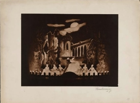 Florence Vandamm (Vandamm Studio) -Tilly Losch Fred Astaire, Albertina Rasch Dancers ,in The Band Wagon at New Amsterdam Theatre, 1931