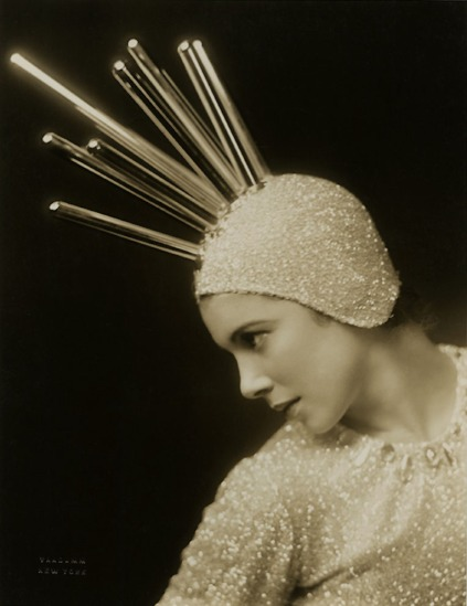 Florence Vandamm (Vandamm Studio) - Tilly Losch paper snipe for Tilly Losch in the Band Wagon,  at the new amsterdam theatre musical, 1931