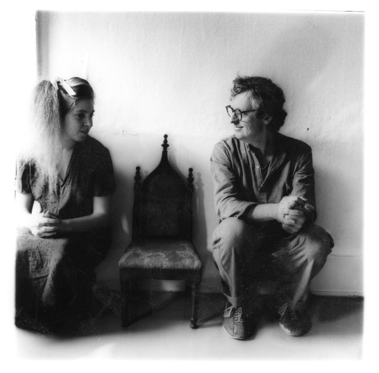 Francesca Woodman and her Father