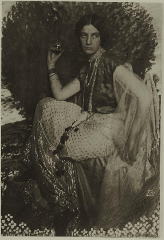 Franck Eugene- Dora G. - The Plakat, 1910