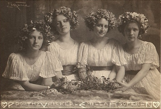 Franck Eugene-Four Sisters 1900