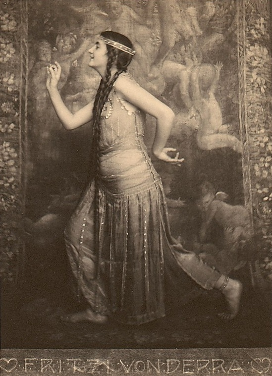 Franck Eugene- Fritzi von Derra - The Greek Dancer - 1900s