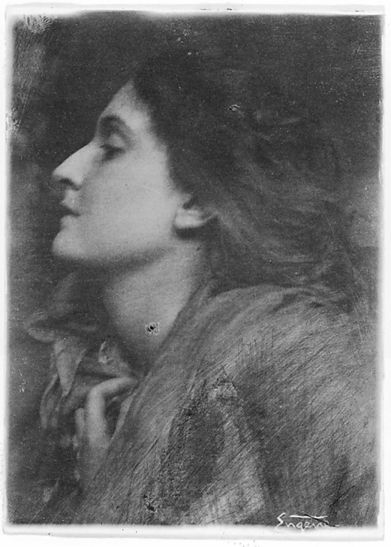 Franck Eugene-Lady of Charlotte,1899