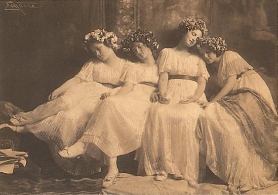 Franck Eugene - Slumbering Maidens ,1900