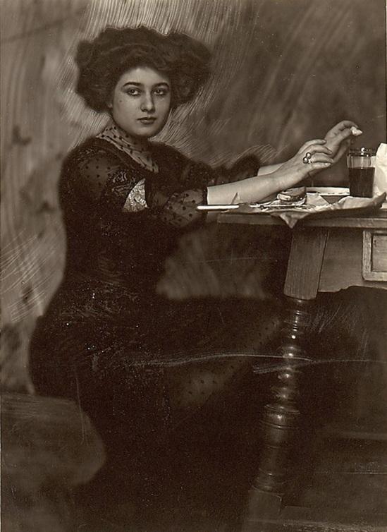 Franck Eugene-T he Diva at Home,1900