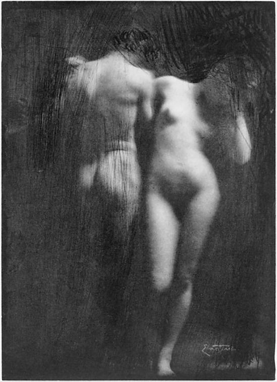 Frank Eugene-Adam and Eve, 1900s, printed 1909; Medium-Photogravure