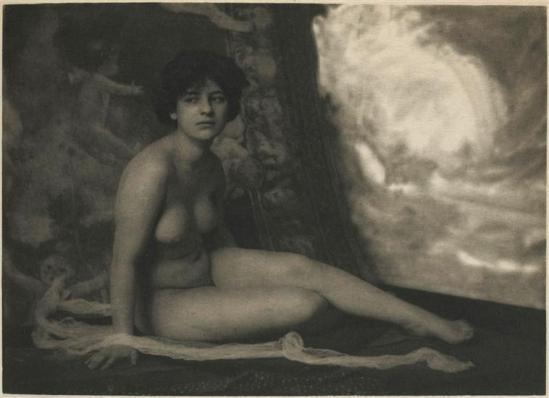 Frank Eugene- Nude study, 1910