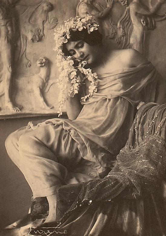 Frank Eugene - Fritzi von Derra, The Greek Dancer, 1900s