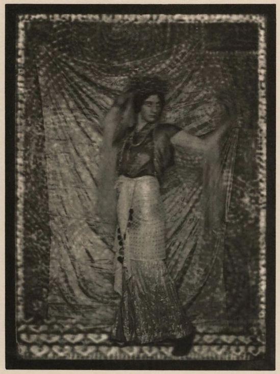 Frank Eugene- Mosaic, 1908 publiée dans Camera work, Apr. 1910._e