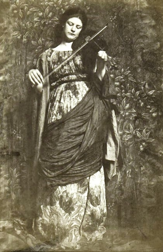 Frank Eugene - The daughter of Joachim. 1899