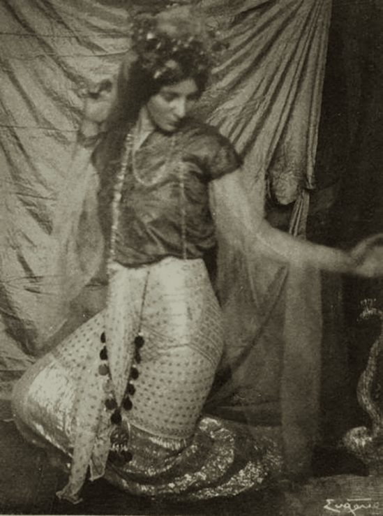 Frank Eugene - The Snake Charmer, 1910