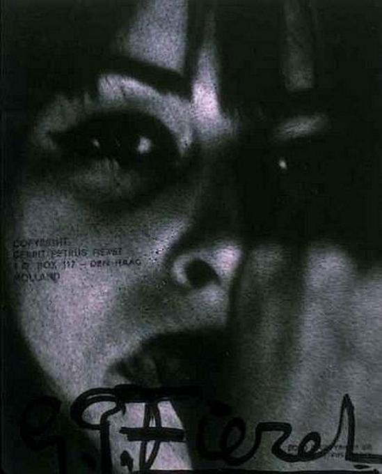 Gerard Fieret  Portrait of a Woman  1960s