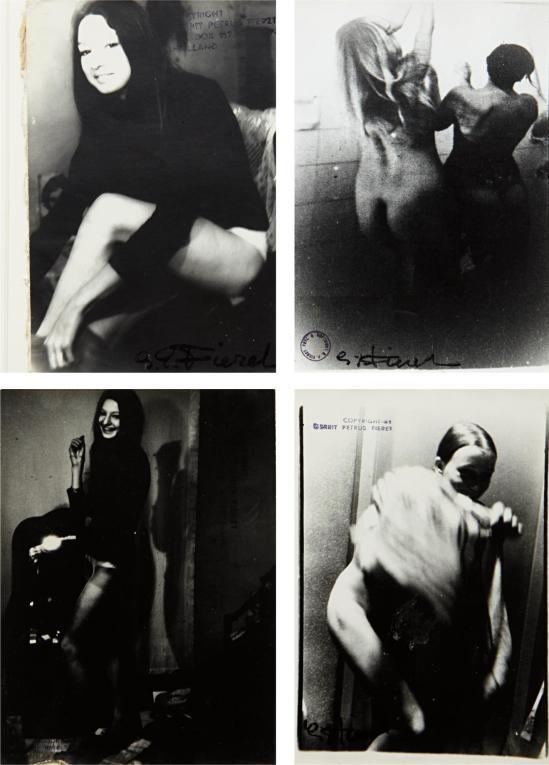 Gerard Pietrus Fieret - 4 plates Untitled, 1960s p02