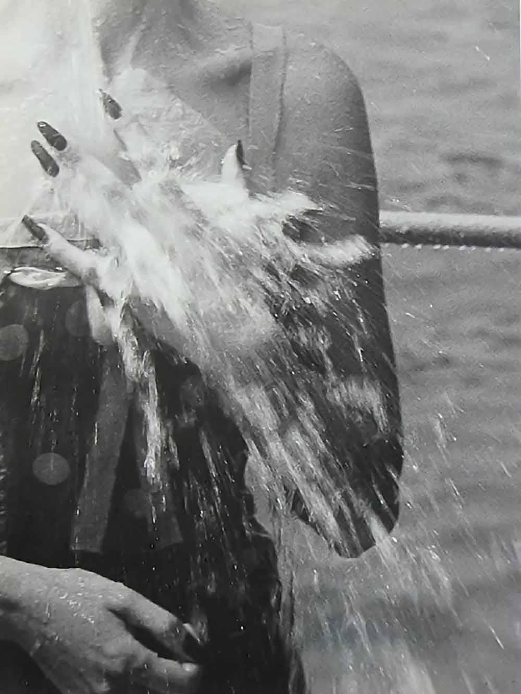 Jacques henri Lartigue- Florette, Monte Carlo Beach, August, 1953