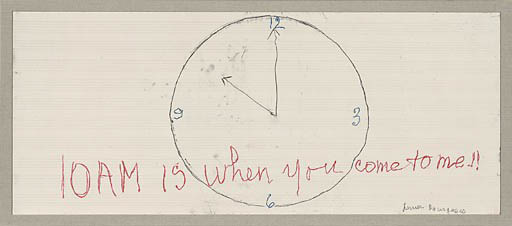 Louise Bourgeois-10 AM Is When You Come To Me, 2007