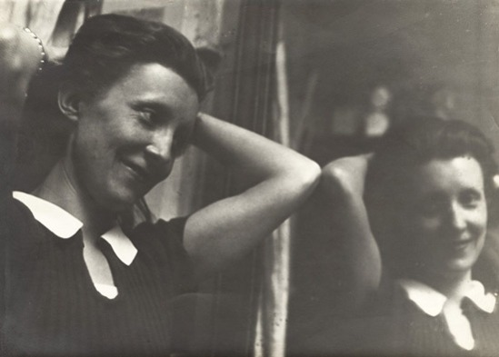 Louise Bourgeois photographed by Brassaï at the Académie de la Grande-Chaumière in Paris in 1937