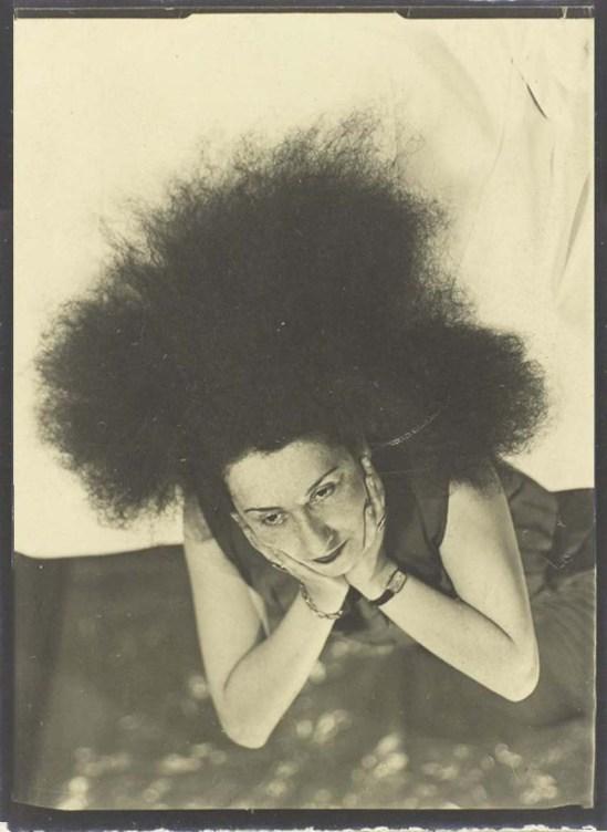 Man Ray- Denise Tual (Titus) 1935 Epreuve gélatino-argentique ( productrice de cinéma, monteuse et réalisatrice française Paris) , 1935 (c) Man Ray Trust 1