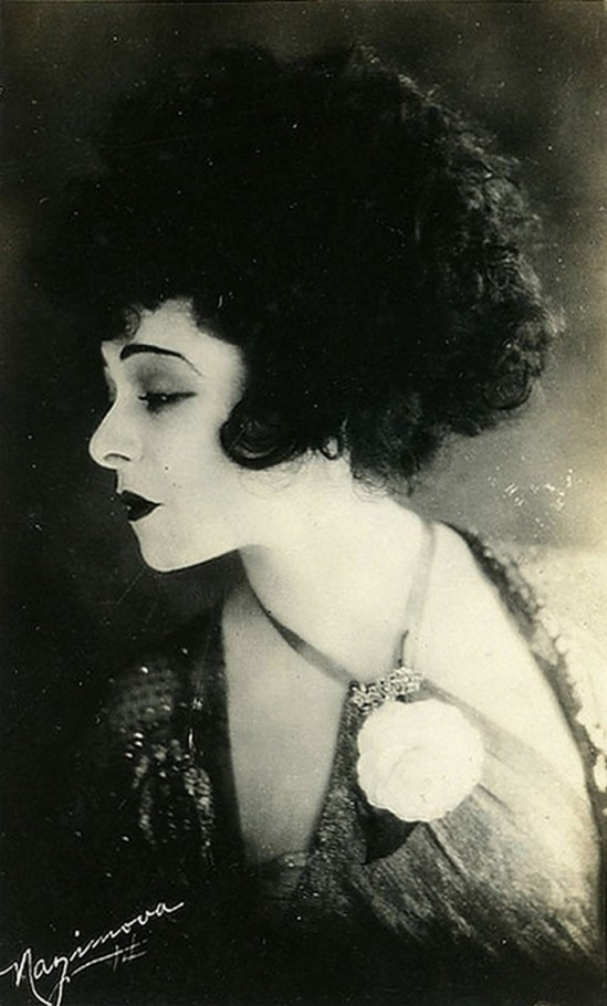 Portrait of Alla Nazimova in Camille directed directed by Ray C.Smallwood, , photography  Arthur Rice, 1921