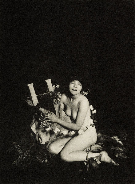 Lejaren Hiller- The Morning Wind, Bypaths in Arcady, 1915 [Photogravure]