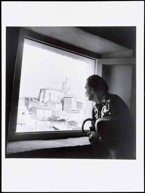 Brassai - Portrait  Dali, 1955