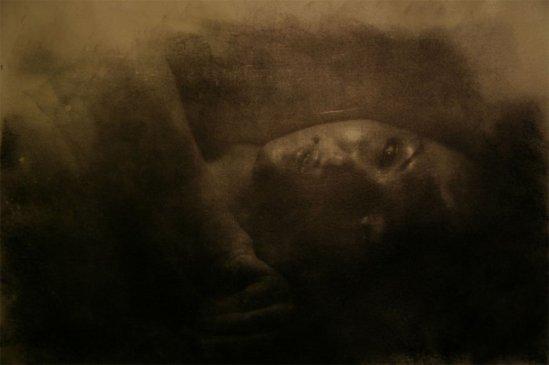 Anders Schildt- Portrait, oilprint, nd