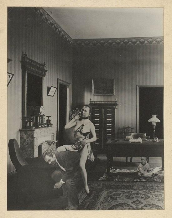 Dora Maar - Jeux interdits, Photomontage , 1935