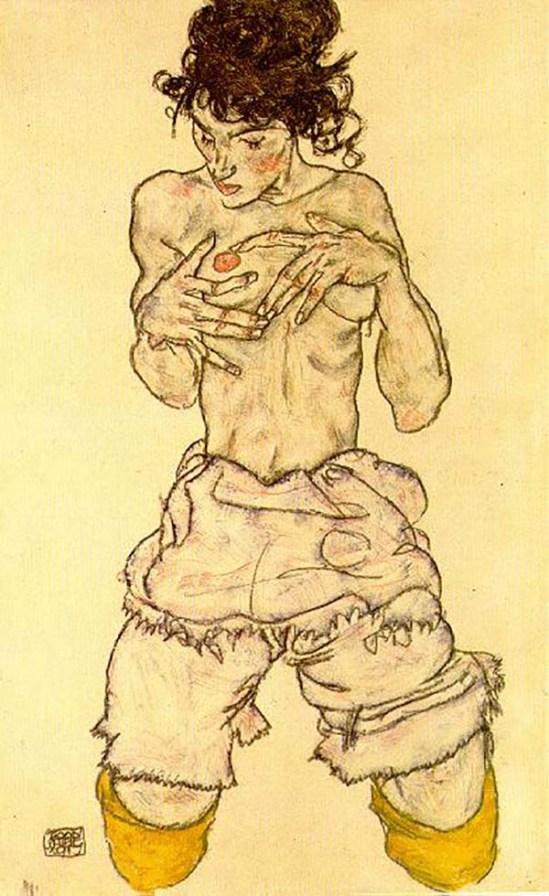 Egon Schiele 1917