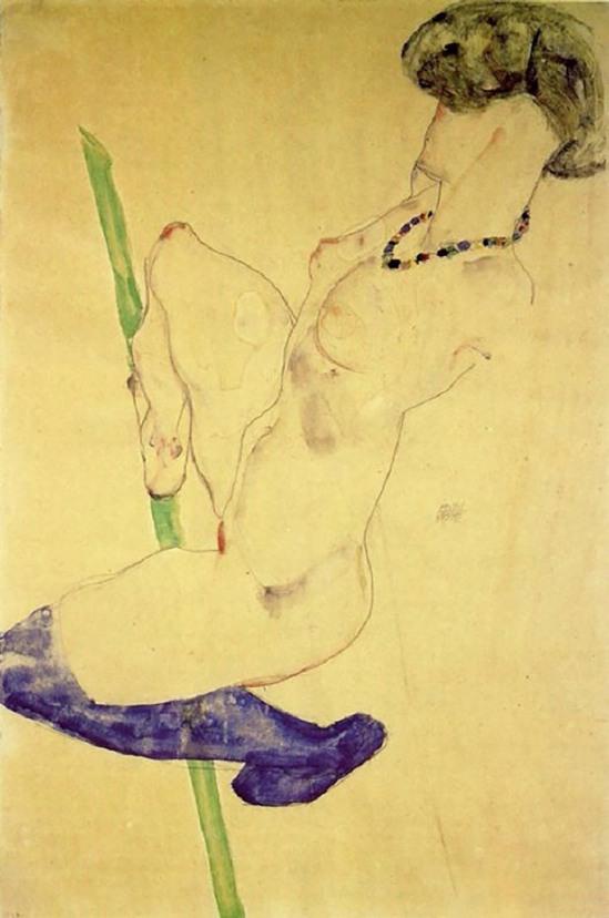 Egon Schiele koorddanser   1912 (2)