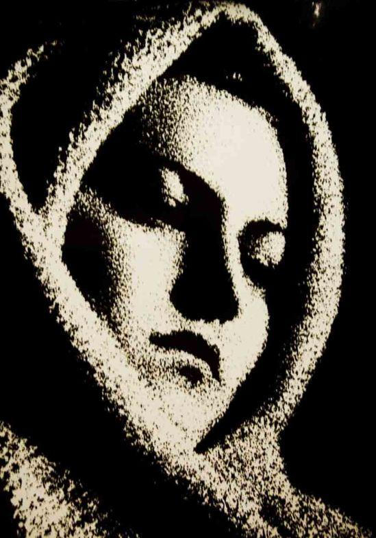 Ferenc (Francisco) Aszmann-  Angelika (negatív szolarizáció) 1942.