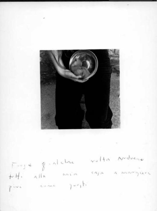 Francesca Woodman -Antella. Roma. Roma  1977-78( George and Betty Woodman)