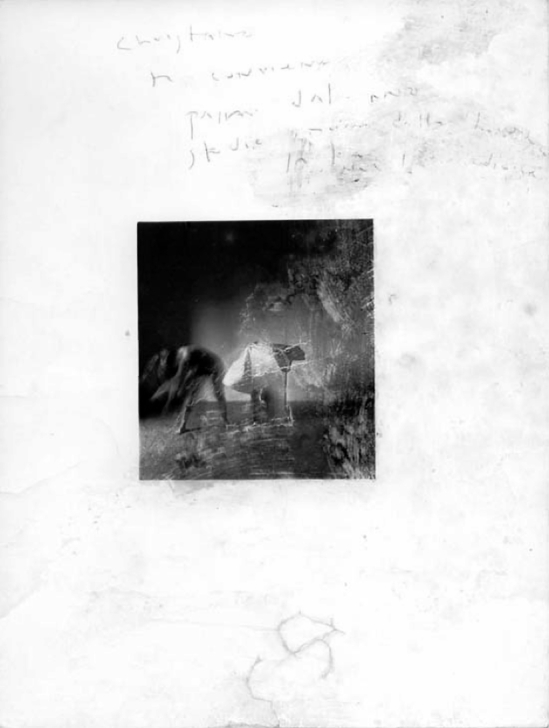 Francesca Woodman -Nuvola mediocre. Roma.  1977-78 ( George and Betty Woodman)