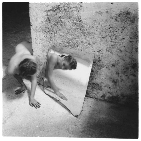 Francesca Woodman-Self-Deceit #1, Rome Italy, 1978