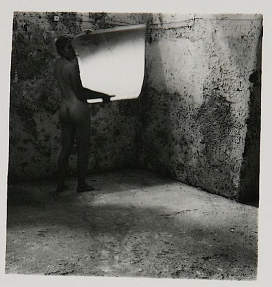 Francesca Woodman- Self-Deceit# 2 , Rome Italy, 1978