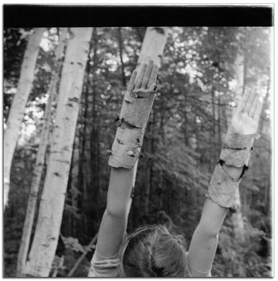 Francesca Woodman- Untitled , MacDowell Colony, Peterborough, New Hampshire, Summer 1980