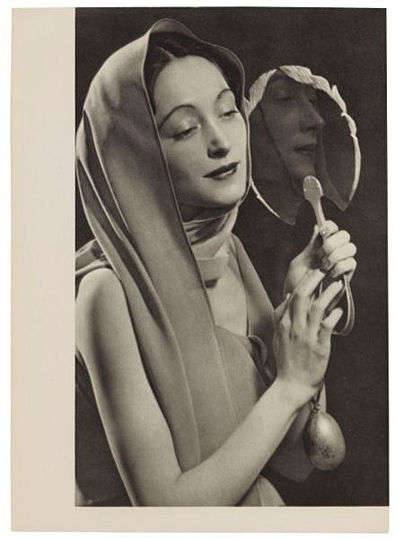 Man Ray- Nush Eluard, Le temps déborde , 1947 par Paul Eluard - Photographies Dora Maar & Man Ray. Ed° es Cahiers d'Art, Paris