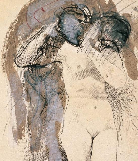 Rodin - Femme nue avec la tête sur son épaule, 1890