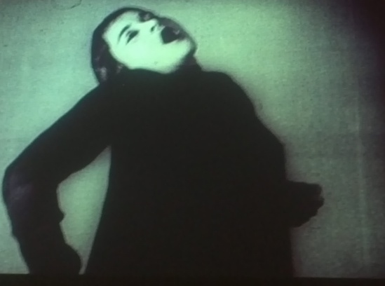 The Jewish cabaret artist Valeska Ger Still from a Weimar Republic era experimental dance film