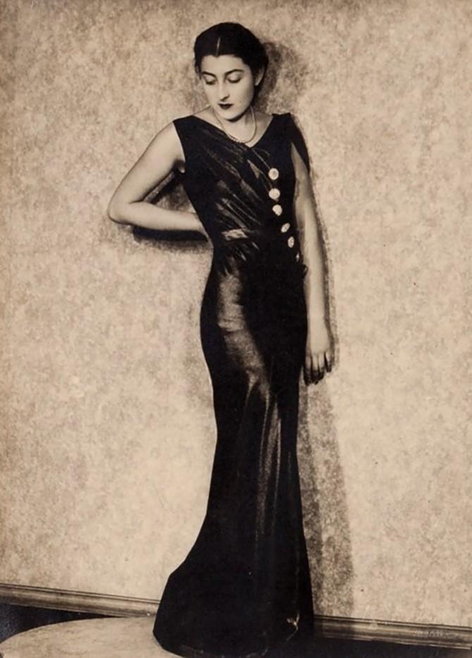 Elio Luxardo -Portrait of a lady, ca. 1940