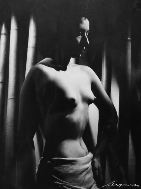 Elio Luxardo- Nudo femminile , 1940